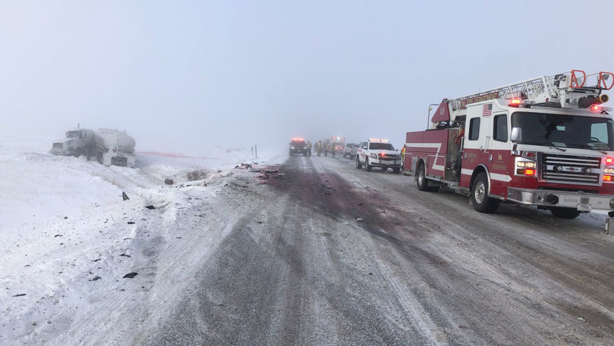 ISP crash near INL