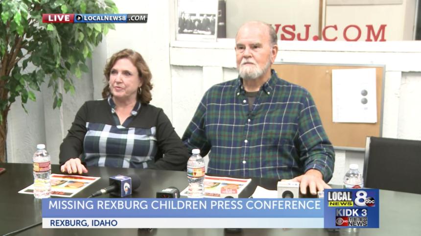 Press conference missing Rexburg children