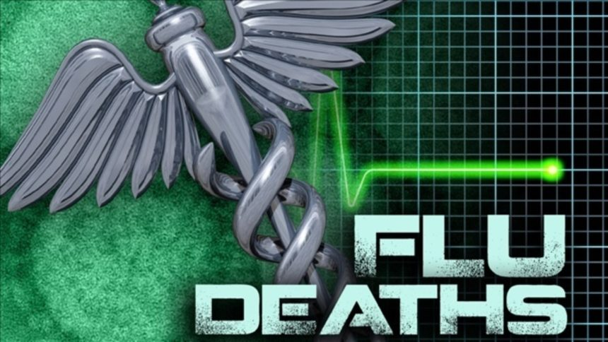 flu deaths logo