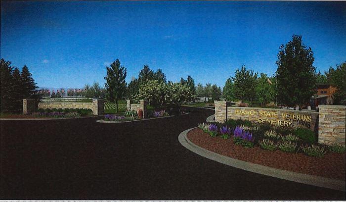 veterans cemetery concept
