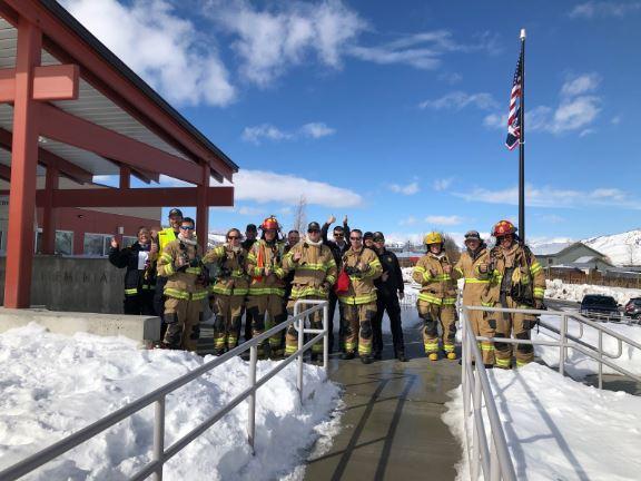 JH FIRE EMS AT MUNGER SCHOOL