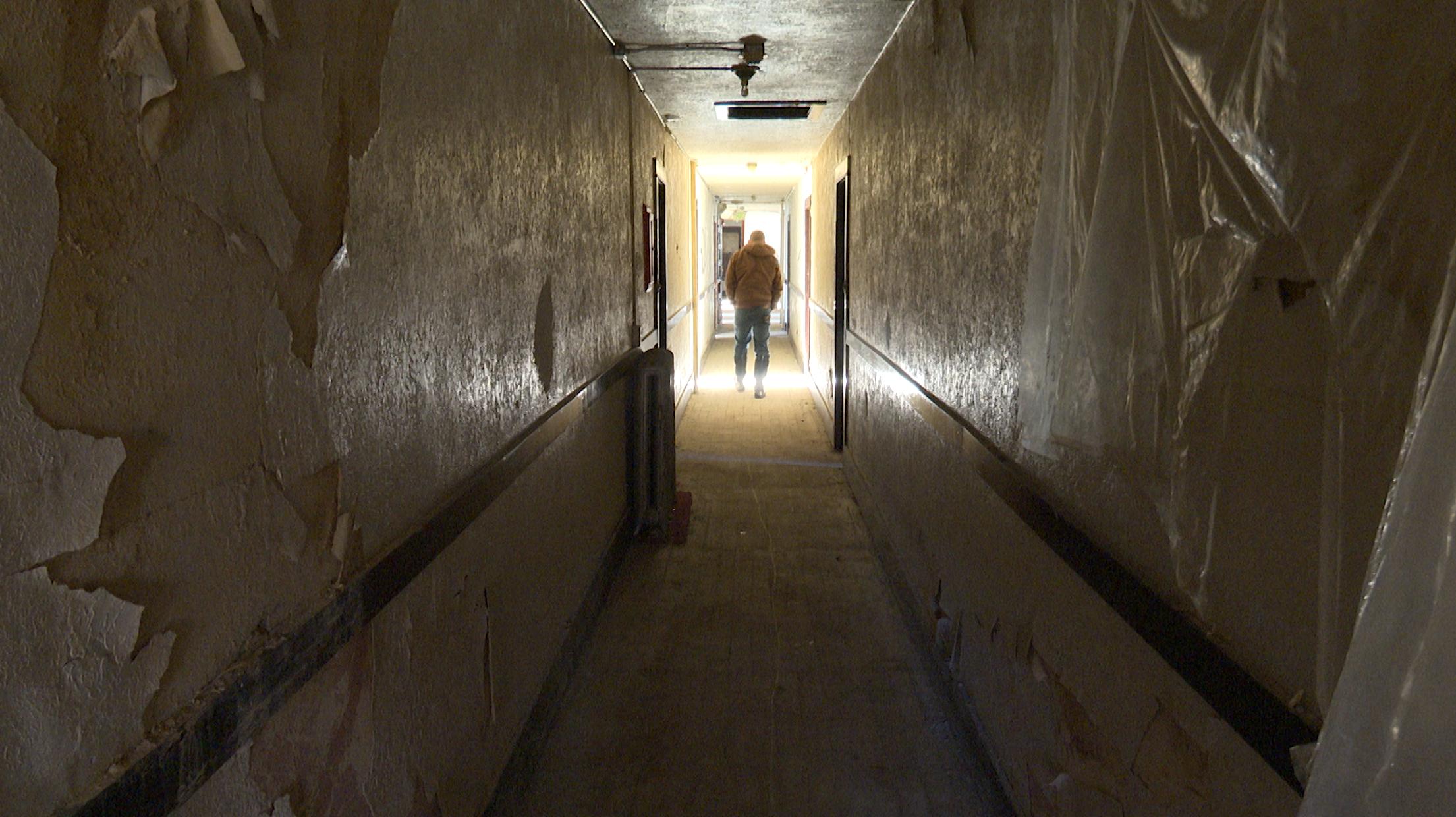 Inside 729 W Center St.