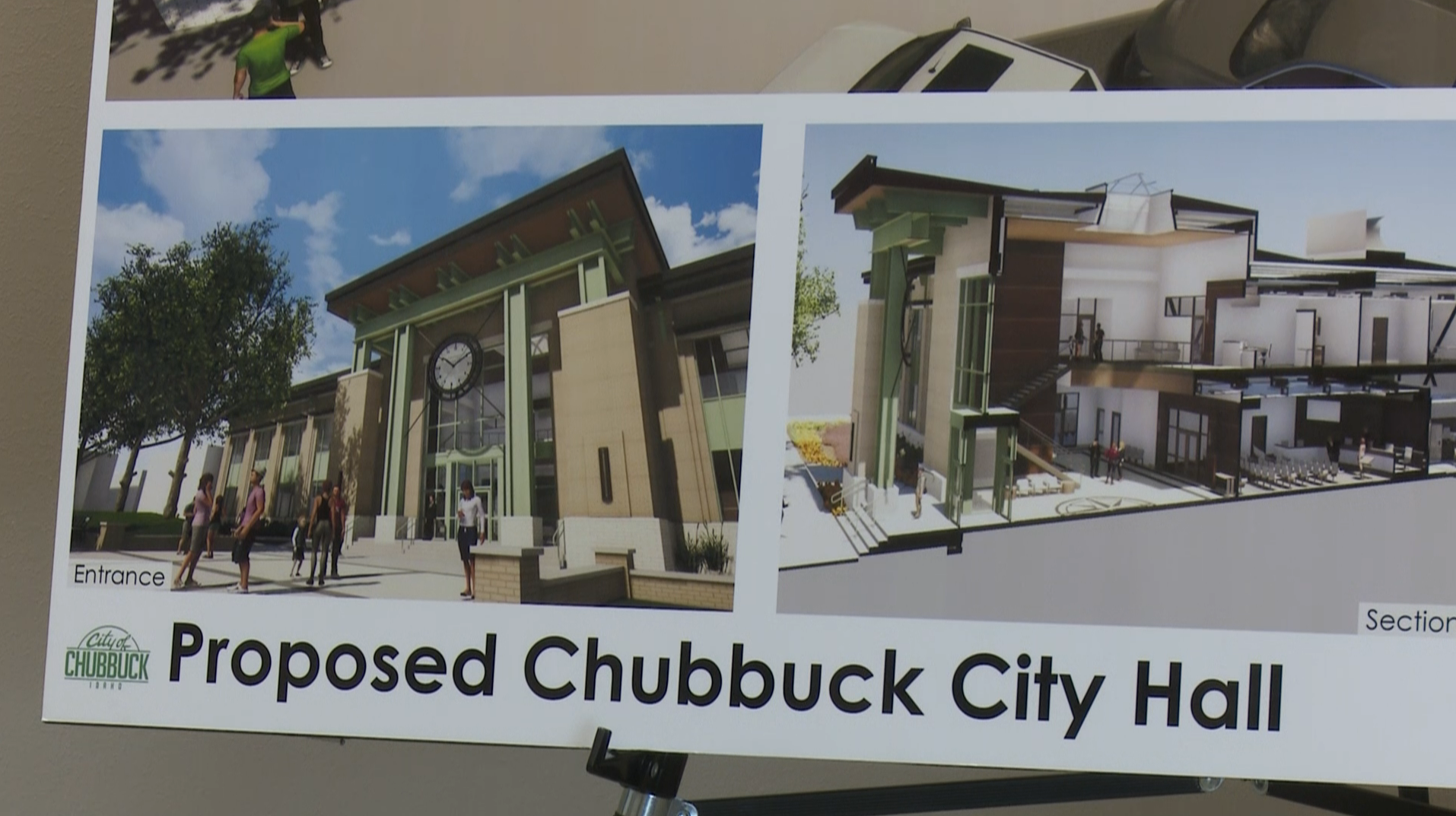 Chubbuck unveils how they will finance new city hall