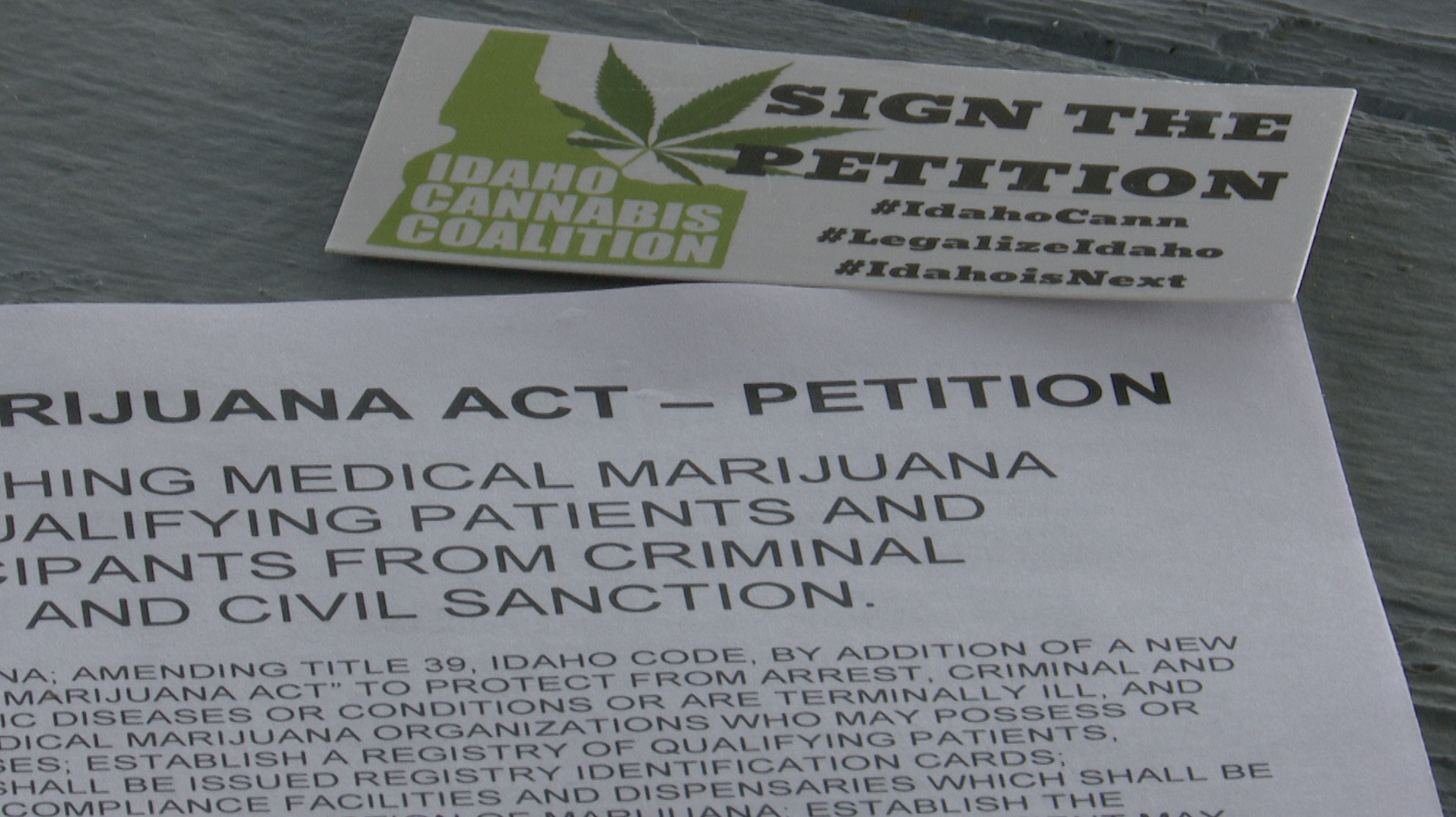 Medical marijuana petition