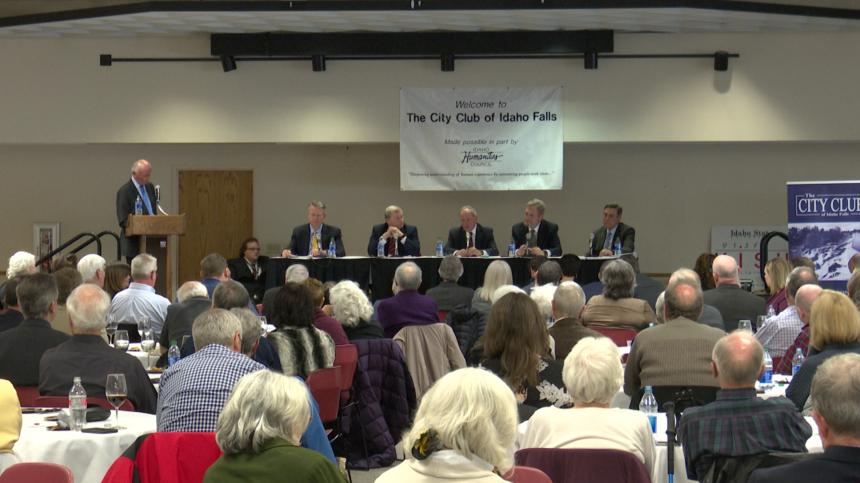 City Club panel