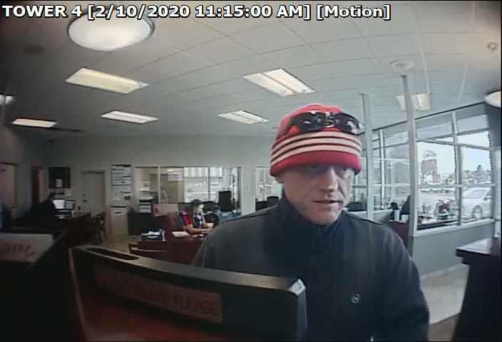 bank robbery in burley