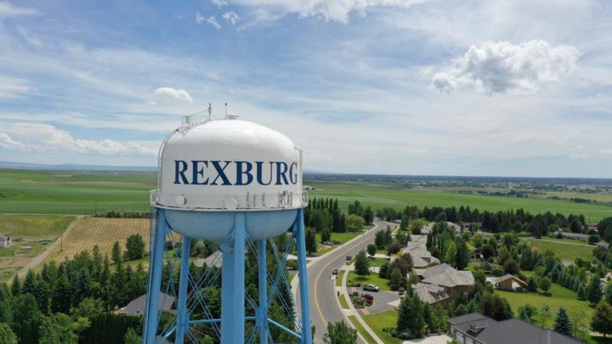 Rexburg water tower