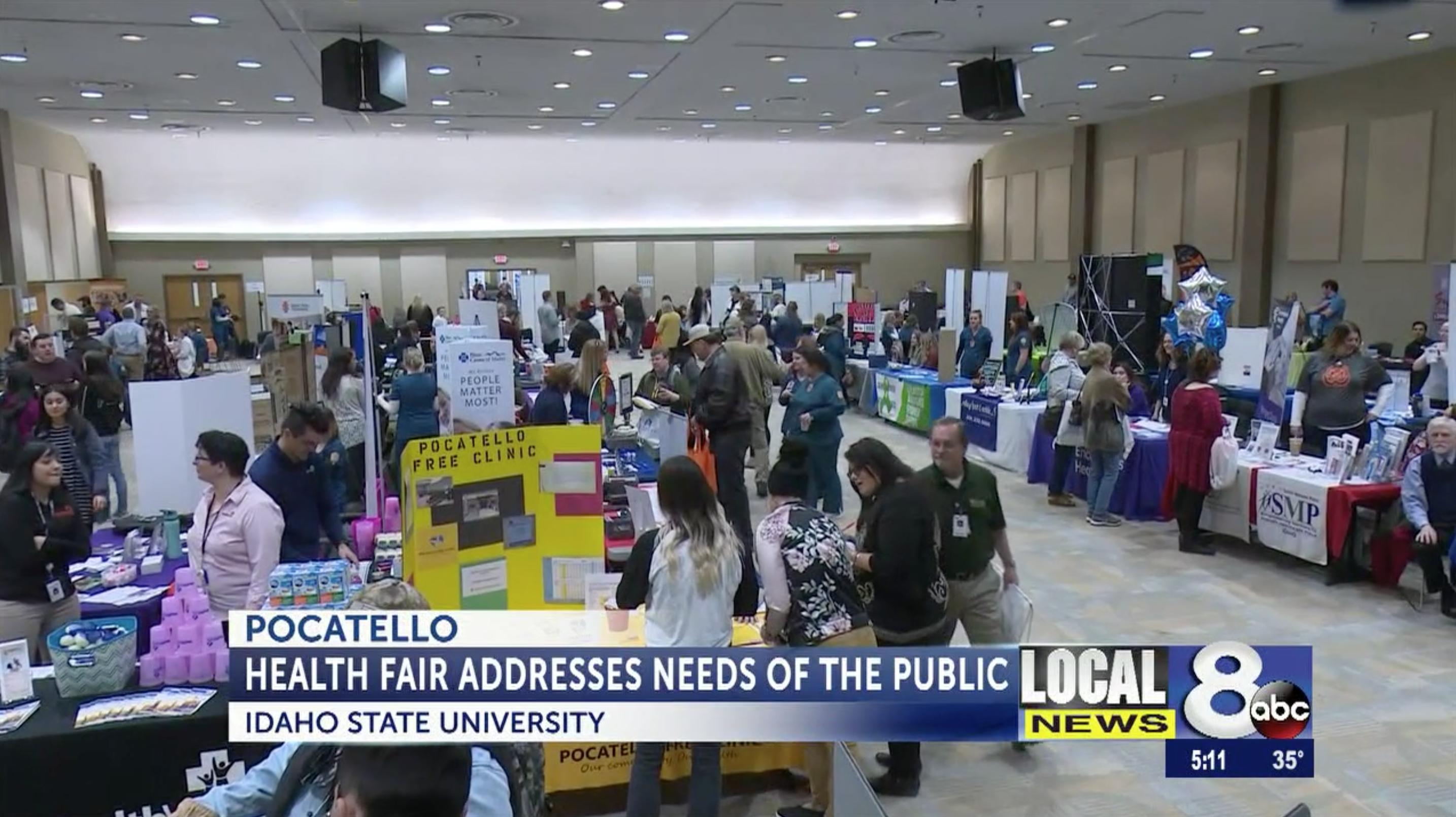 ISU Health Fair draws hundreds