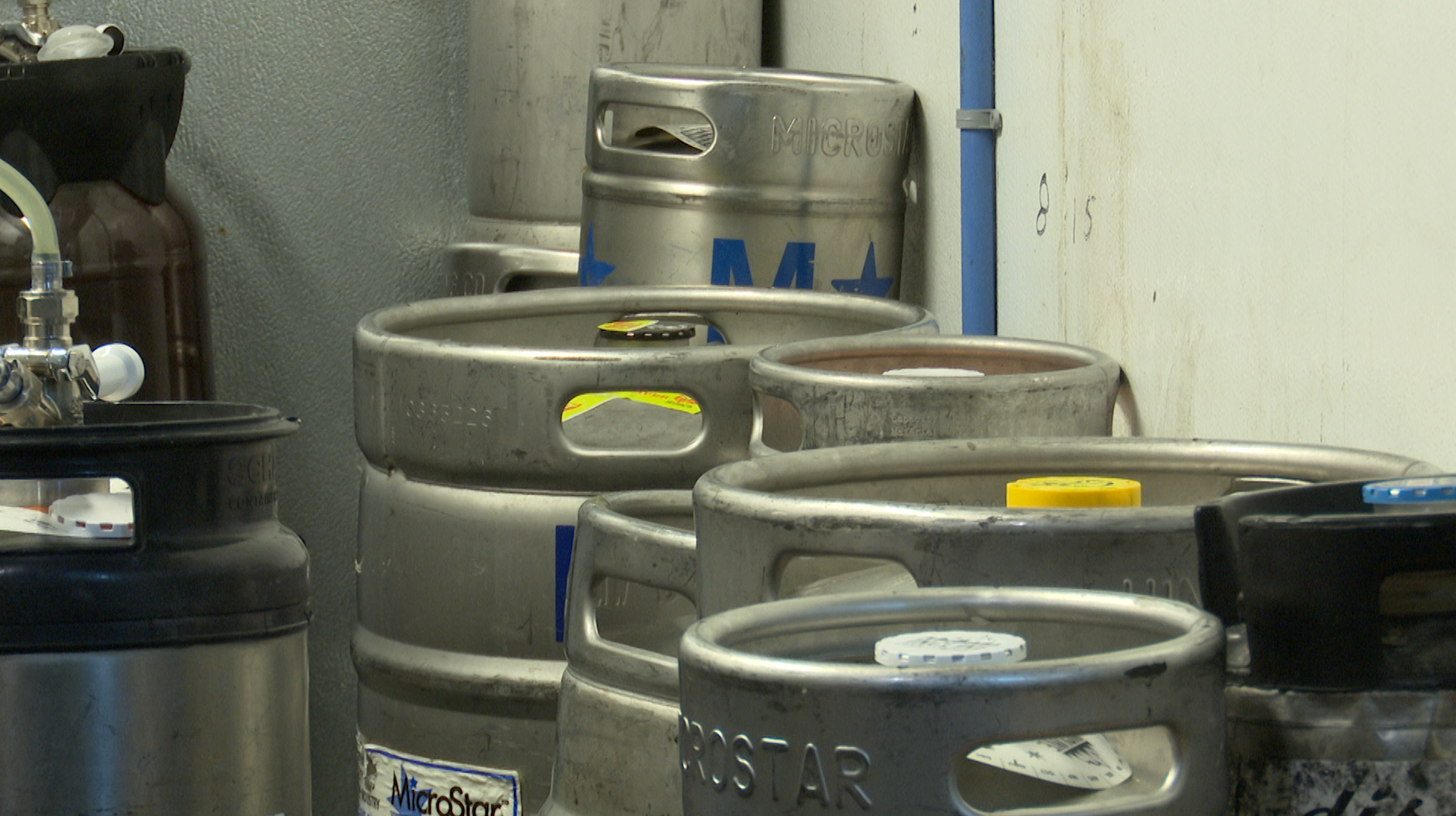Kegs for Gate City Brewfest