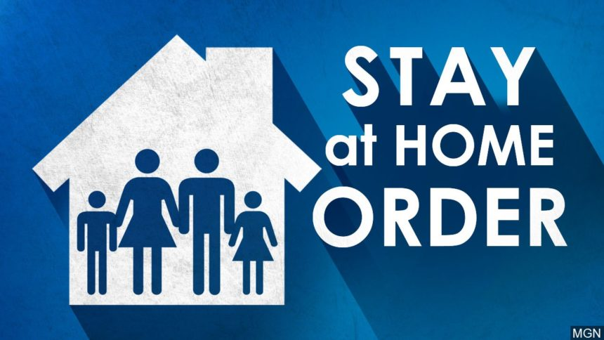 Stay aat home order