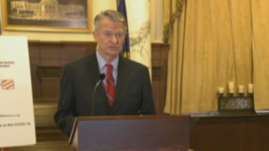 Governor Brad Little press conference economy