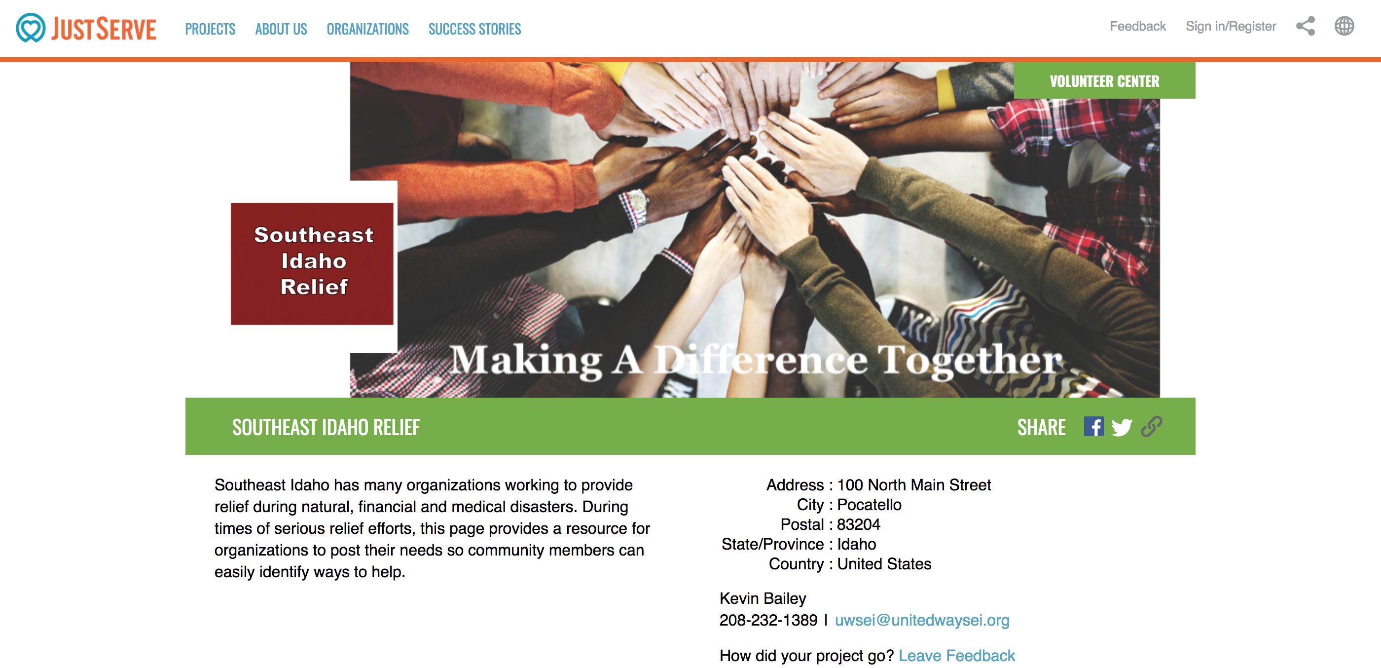 New COVID-19 volunteer website activated