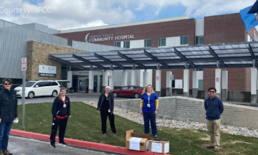 IFCC donates to community