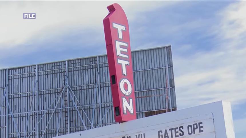 Teton Vu Drive-In logo