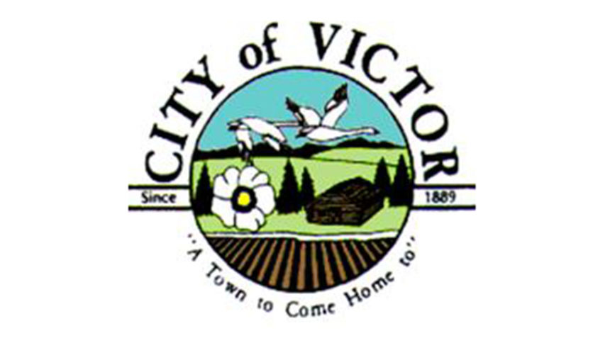 City of Victor logo