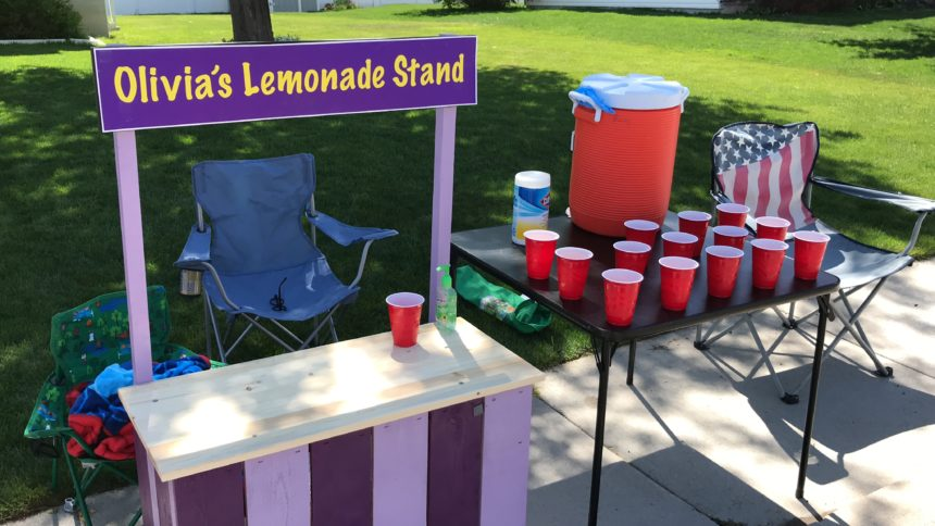Olivia's Lemonade Stand web
