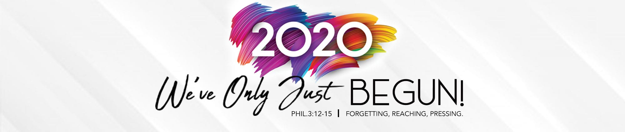 2020 Year Theme Web Banner