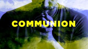 Communion sermon graphic