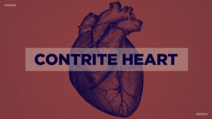 Series Graphic on Contrite Heart