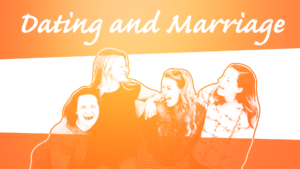 Sermon Graphic on Dating & Marriage