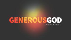 Sermon Graphic for Generous God