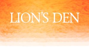 Lion's Den graphic
