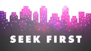 Seek First graphic