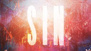 Sermon Graphic on Sin