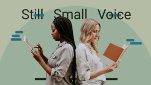 Still small voice sermon series graphic