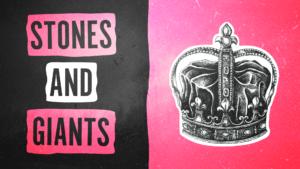Sermon Graphics on Stones & Giants