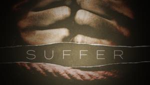 Sermon series graphic Suffer