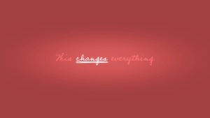 Sermon Graphic on This Changes Everything