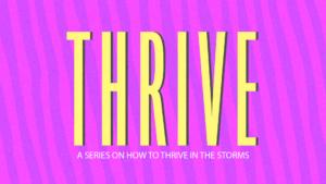 Sermon Graphic on Thrive