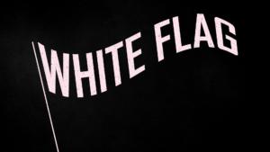 Sermon Graphic on White Flag