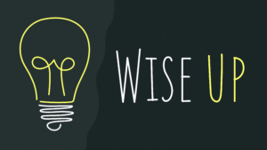 Sermon Graphic on Wise Up