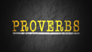 Sermon Graphic on the Book of Proverbs