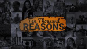 Sermon Graphic on Ten Thousand Reasons