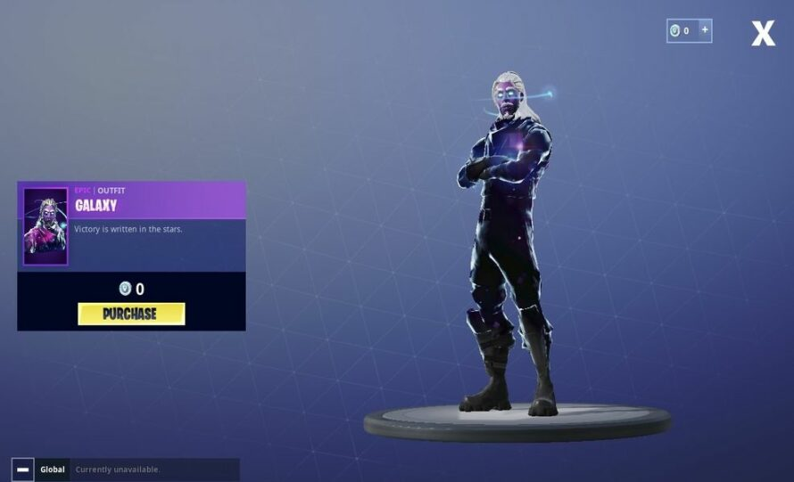 Female Galaxy Skin Note 10 Fortnite Skin Upcoming Galaxy Skin May Be Included In A Starter Pack