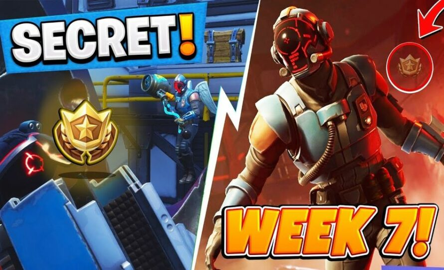 Fortnite Season 6 Week 7 Skin Fortnite Season 4 WEEK 7 HIDDEN FREE Battle Pass Tier