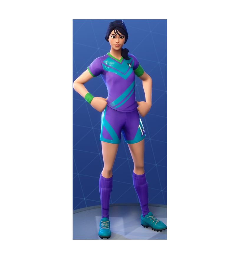 Image Skin Footballeuse Fortnite Clinical Crosser Fortnite Outfit Skin How To Get News