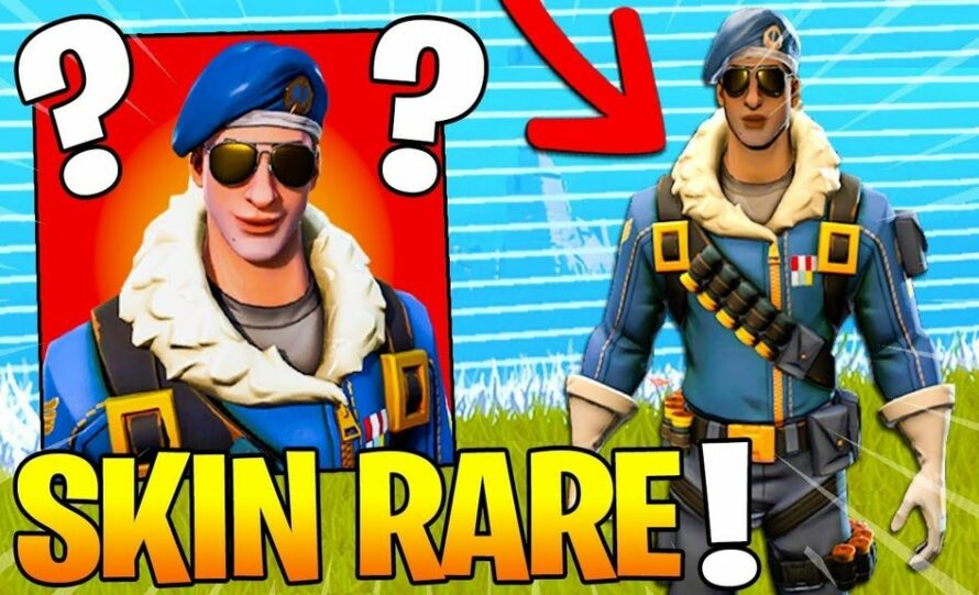 Le Skin Le Plus Rare Du Jeu Fortnite LE SKIN LE PLUS RARE DE Fortnite Battle Royale YouTube