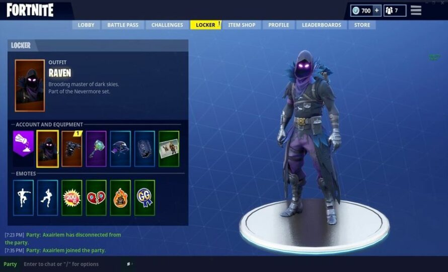 Skin Fortnite Voleuse Fortnite BR THE RAVEN SKIN IS IN THE ITEM SHOP RIGHT NOW