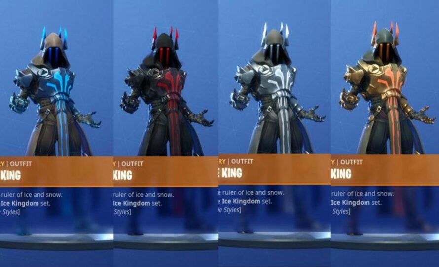 Skin Roi Des Glaces Fortnite Png Fortnite Ice King Challenges How To Unlock Tier 100 Ice