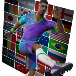 Zombie Soccer Skin Fortnite Png Super Striker Fortnite Outfit Skin How To Get News