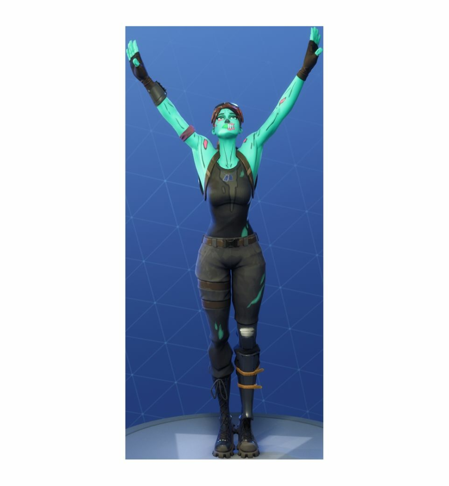 Zombie Soccer Skin Fortnite Png Uncommon Storm Salutation Emote Fortnite Cosmetic
