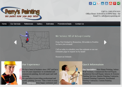 Perry's Painting Website – 2013
